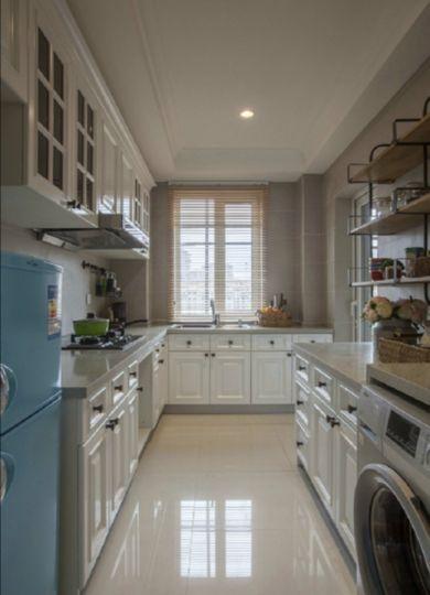 厨房橱柜田园风格装修效果图