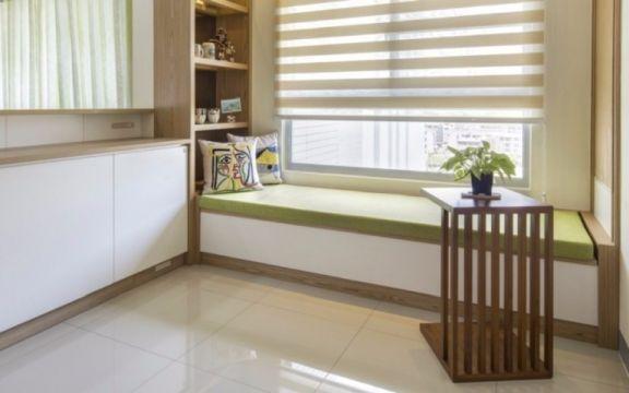 卧室榻榻米日式风格装潢图片