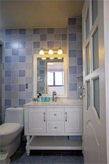卫生间洗漱台混搭风格装修设计图片