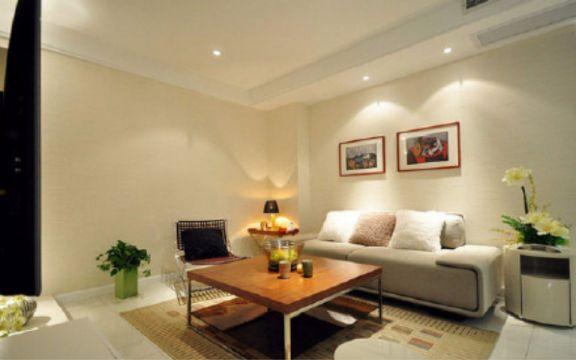 采菊苑两室一厅75平现代简约装修效果图