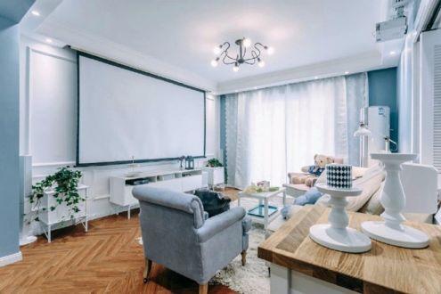 混搭风格85平米三室两厅新房装修效果图