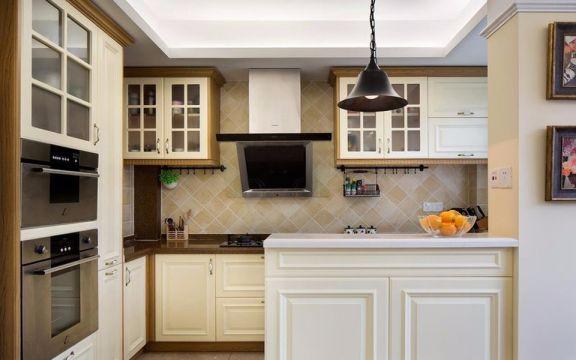 厨房橱柜美式风格装修效果图