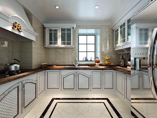 厨房吊顶欧式风格装修设计图片