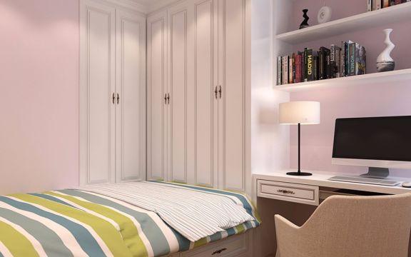 卧室榻榻米简欧风格装潢设计图片