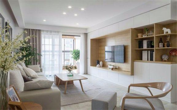 客厅沙发日式风格装潢设计图片