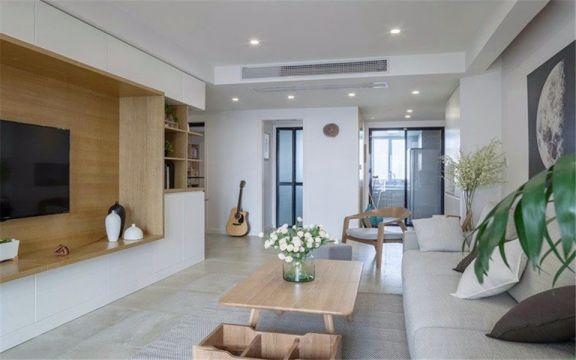 客厅地砖日式风格装饰效果图