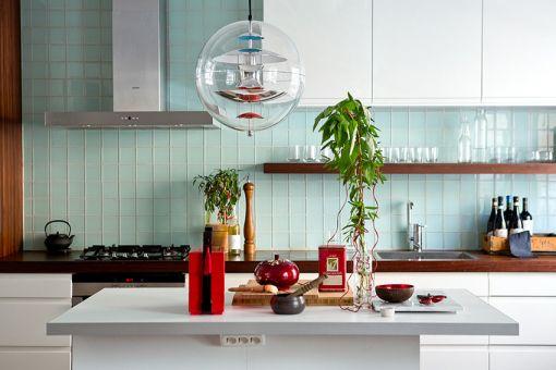 70平米两居室现代简约风格装修效果图