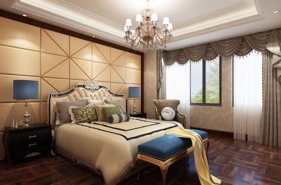 卧室床头柜新古典风格装潢效果图