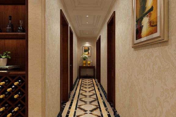 玄关走廊新古典风格装修图片