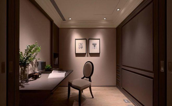 书房书桌新古典风格装修图片