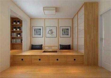 卧室衣柜日式风格装修图片