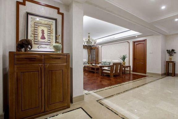 客厅茶几中式风格装修图片