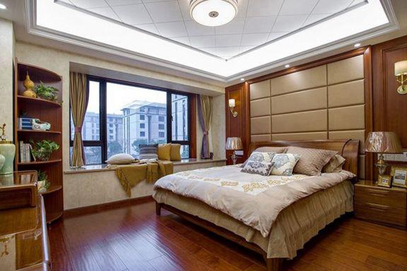 卧室床中式风格装饰图片
