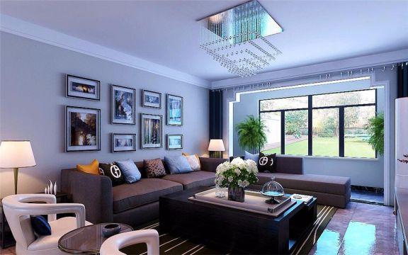 现代风格139平米三室两厅新房装修效果图
