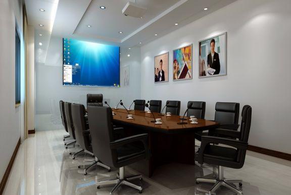 1000平现代简约办公室装修效果图