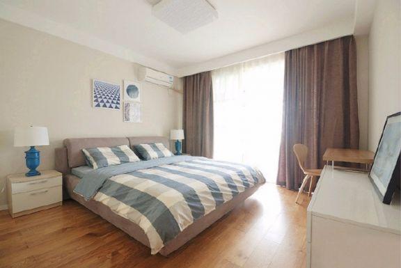 田园风格77平米两室两厅新房装修效果图