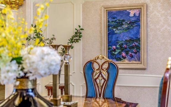 餐厅细节新古典风格装潢设计图片