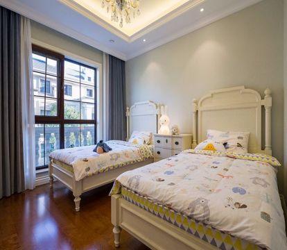 儿童房床新古典风格效果图