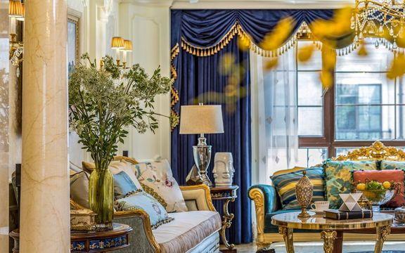 客厅细节新古典风格装修效果图