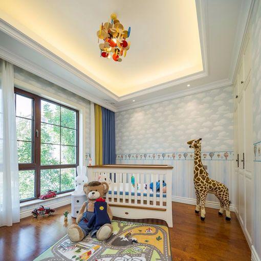 儿童房细节新古典风格装饰图片