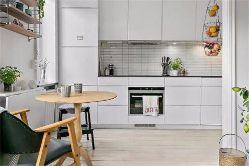 厨房橱柜北欧风格装修效果图