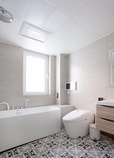 卫生间地板砖北欧风格装修效果图