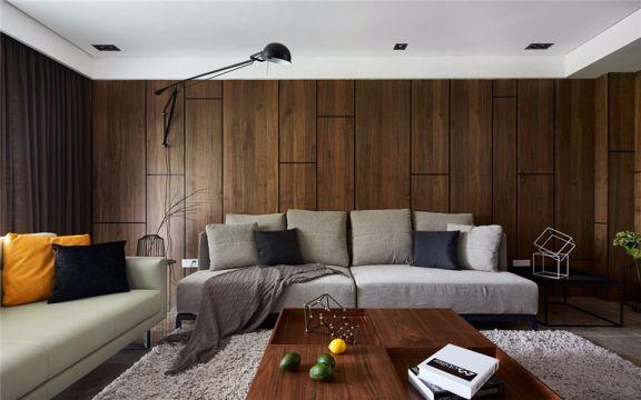 颐和家园160平米北欧风格三居室装修效果