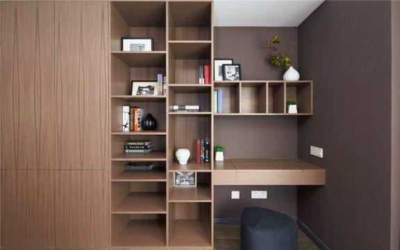 客厅书架北欧风格装修效果图