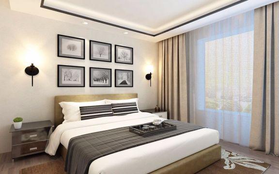 93平米北欧风格二居室装修效果图