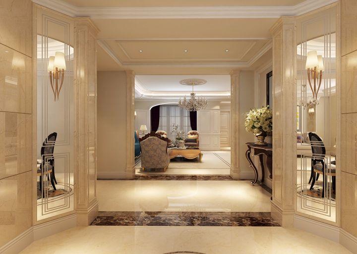 玄关门厅混搭风格装修效果图