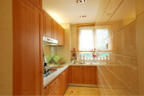 厨房橱柜简约风格装潢图片