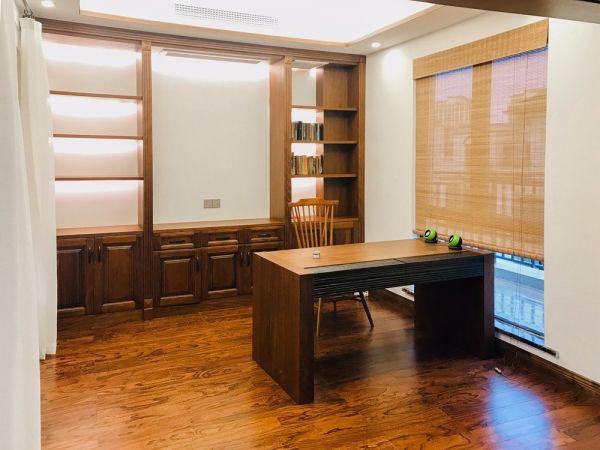 新中式风格245平米别墅房子装饰效果图