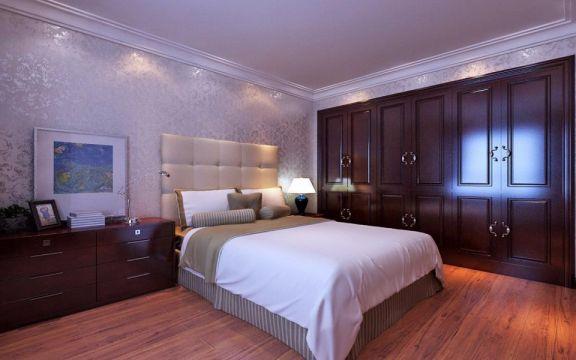 卧室衣柜美式风格装饰设计图片