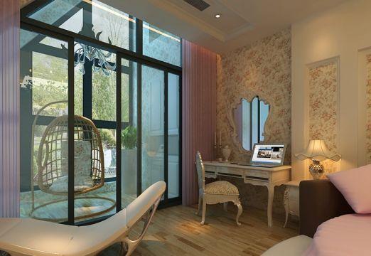 卧室梳妆台现代简约风格装潢设计图片