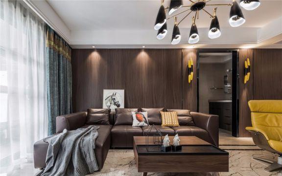 现代风格99平米三室两厅新房装修效果图