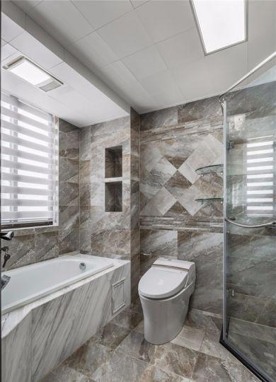 卫生间地板砖现代风格效果图
