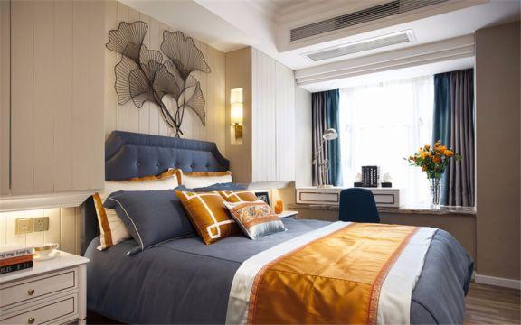 混搭风格87平米四室两厅新房装修效果图