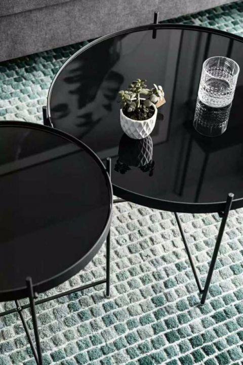客厅茶几北欧风格装饰图片