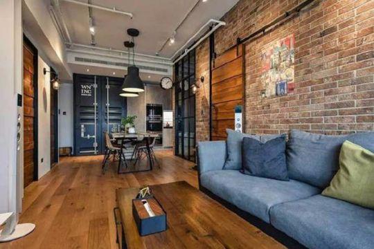现代风格70平米套房新房装修效果图