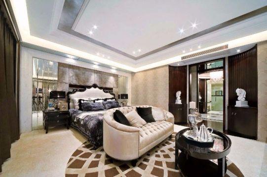 130平简欧两室一厅装修效果图