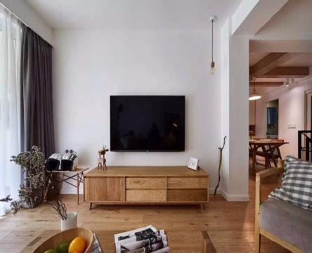 客厅电视柜现代简约风格装修设计图片