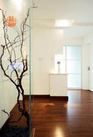 客厅推拉门现代简约风格装饰设计图片
