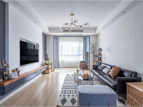 客厅沙发北欧风格装修效果图