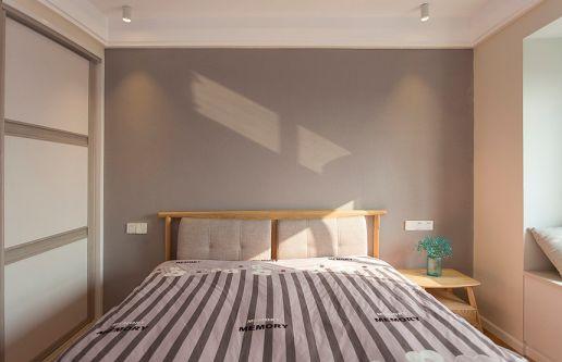 现代卧室北欧装饰图
