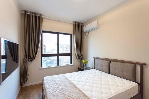 卧室窗帘北欧设计
