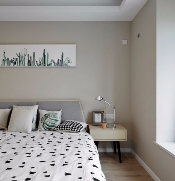 北欧风格110平米两室两厅新房装修效果图