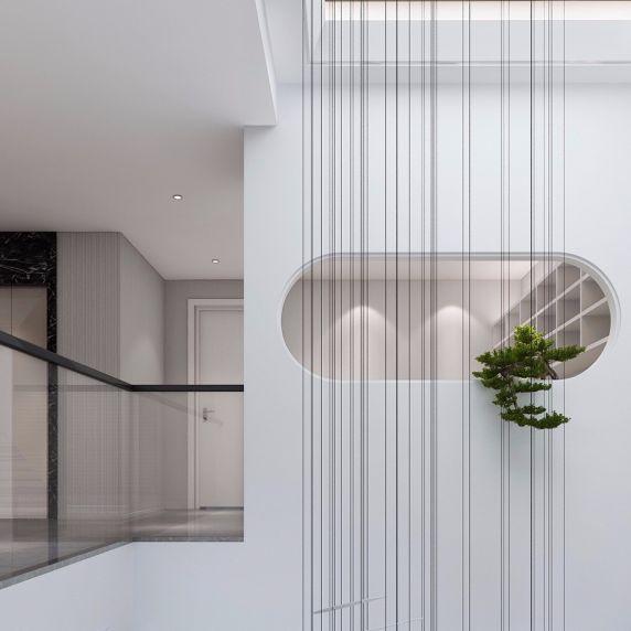 2019简约起居室装修设计 2019简约走廊装修效果图大全