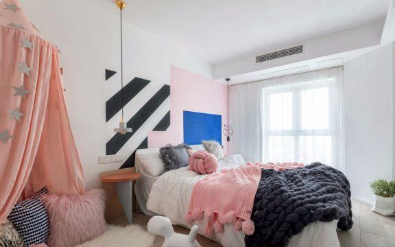 儿童房床混搭风格装修效果图