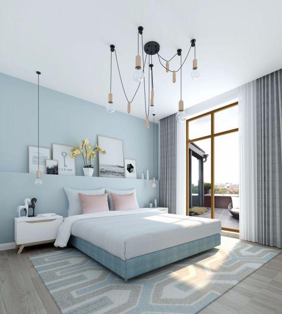 570平米北欧风格四居室装修效果图