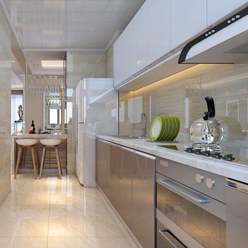 厨房现代简约风格装潢效果图